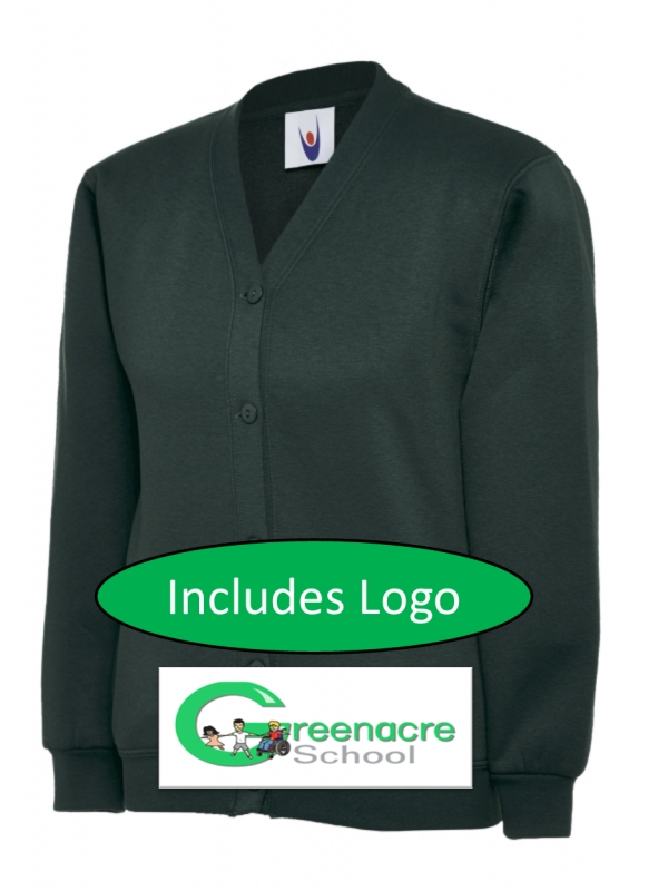Adult Green Cardigan