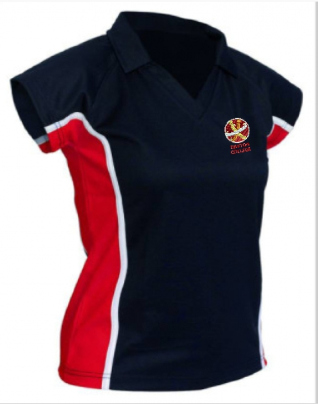 "Girls PE Top (sizes 38""-44"")"