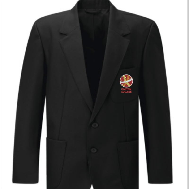 Darton College Boys Black Blazer