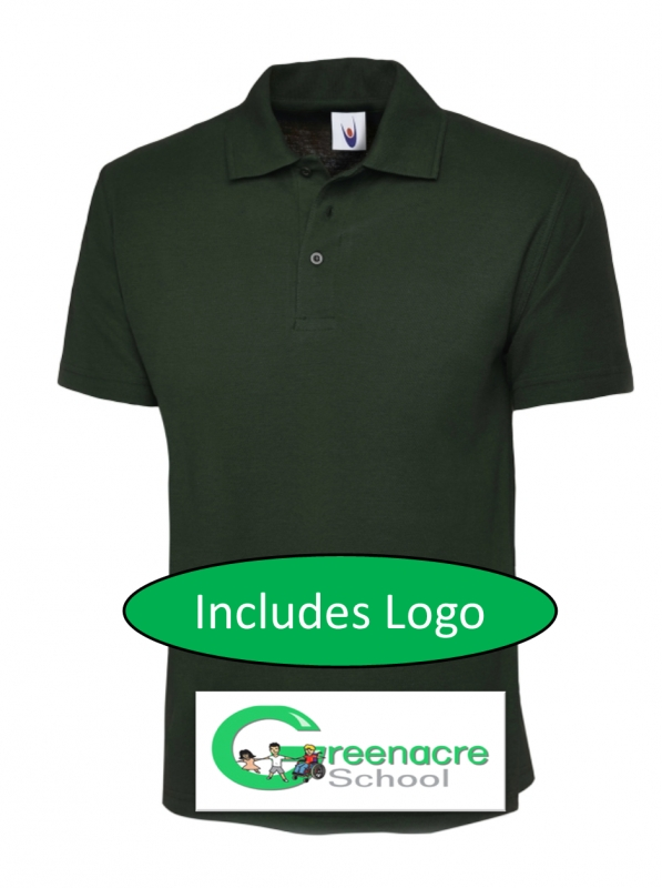 Adult Green Polo Shirt