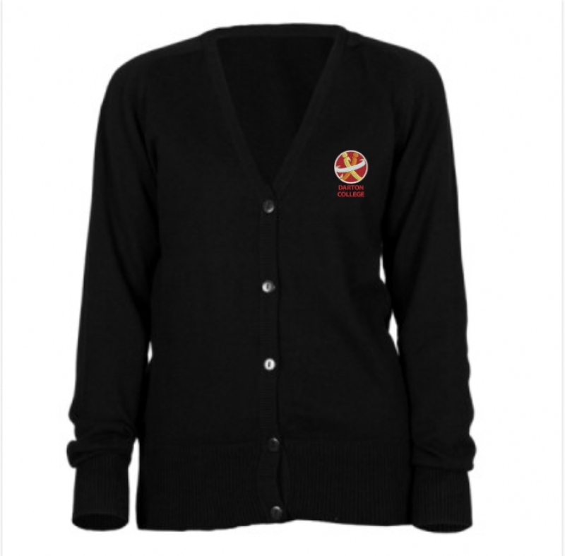 "Darton College Girl-Fit Cardigan (sizes 34""- 44"")"