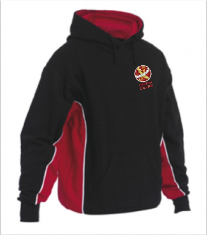 "PE Hooded Sweatshirt (sizes 34""-48"")"