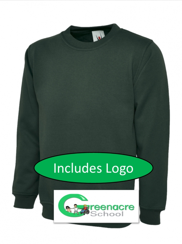 Adult Green Sweatshirt